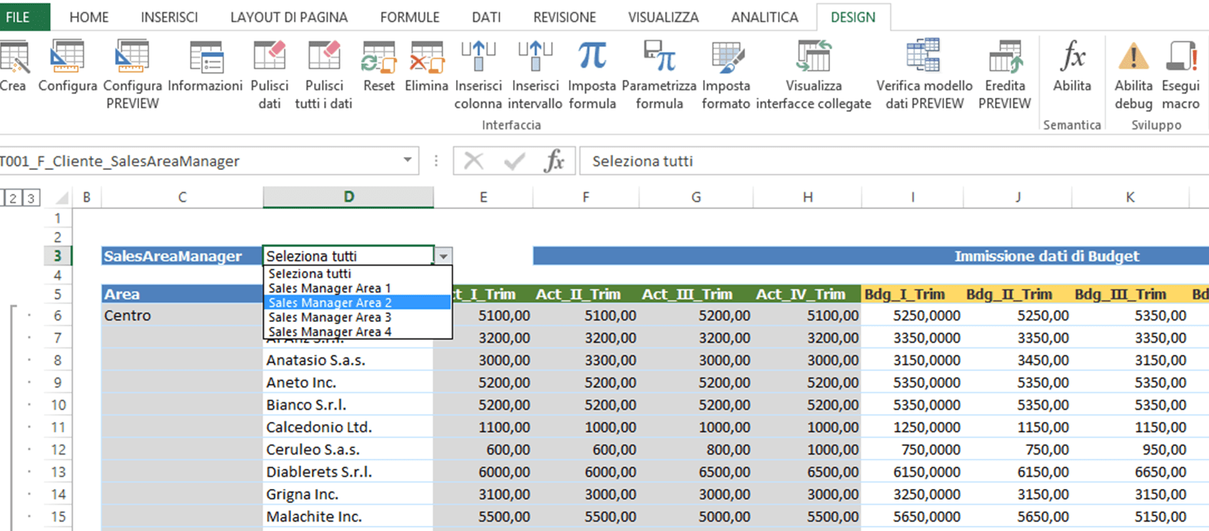 Analitica Excel